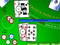 Flash Game Blackjack