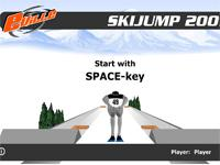 Flash Game Skispringen