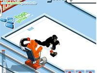 Flash Game Affencurling