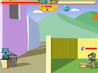 Flash Game Katze gegen Hund