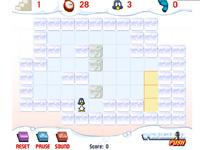 Flash Game Pinguin Push