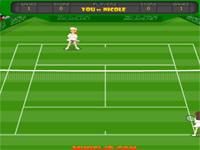 Flash Game Tennis