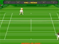 Flash Game Tennis