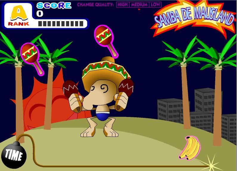 Flashgame - Samba de Mausland