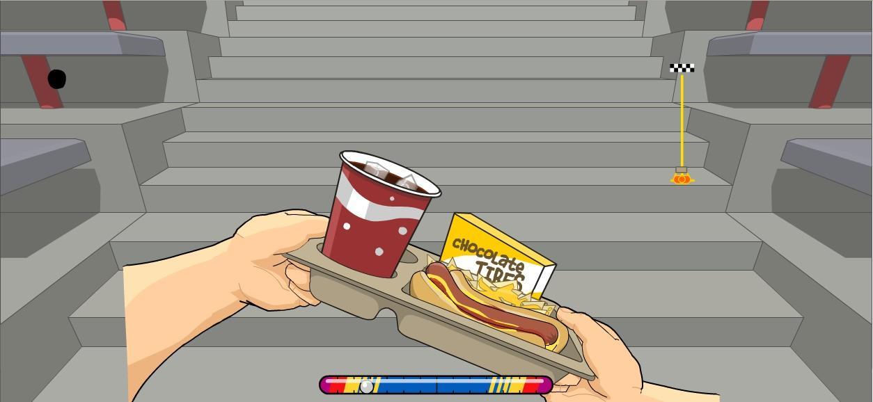 Flashgame - Snack Attack