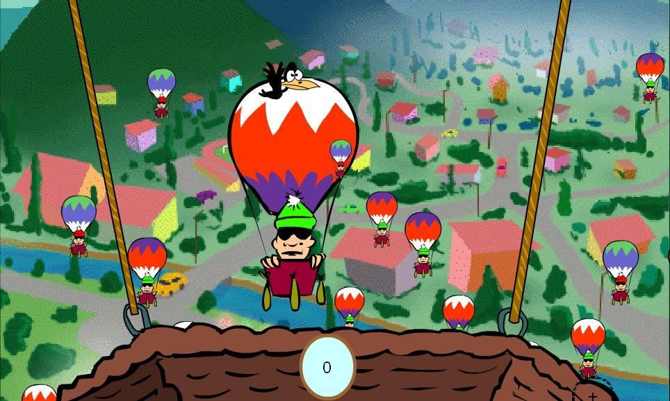 Flashgame - Balloony