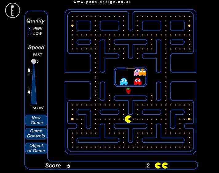 Flashgame - Pac Man