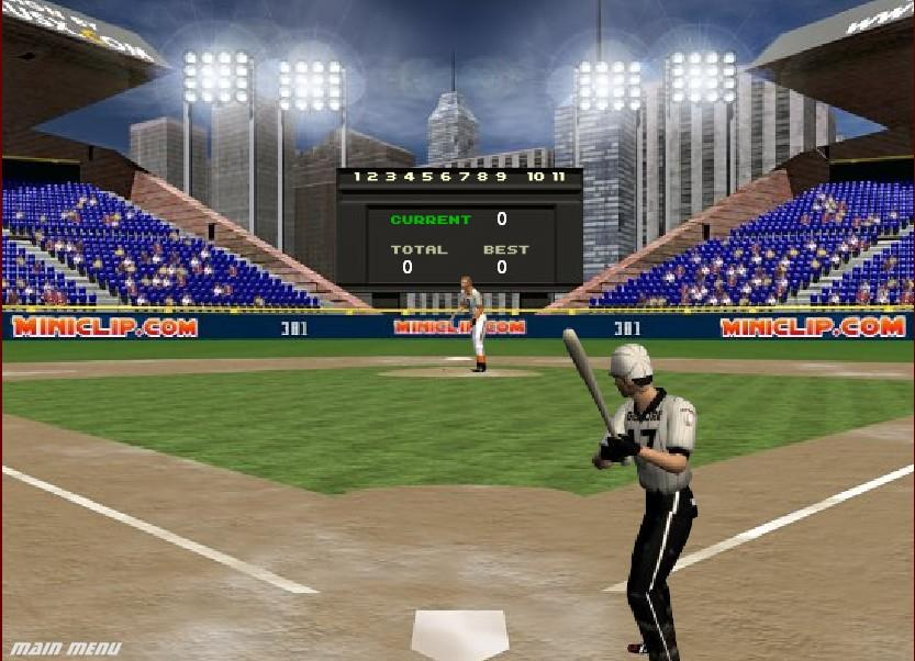 Flashgame - Batting-Champ
