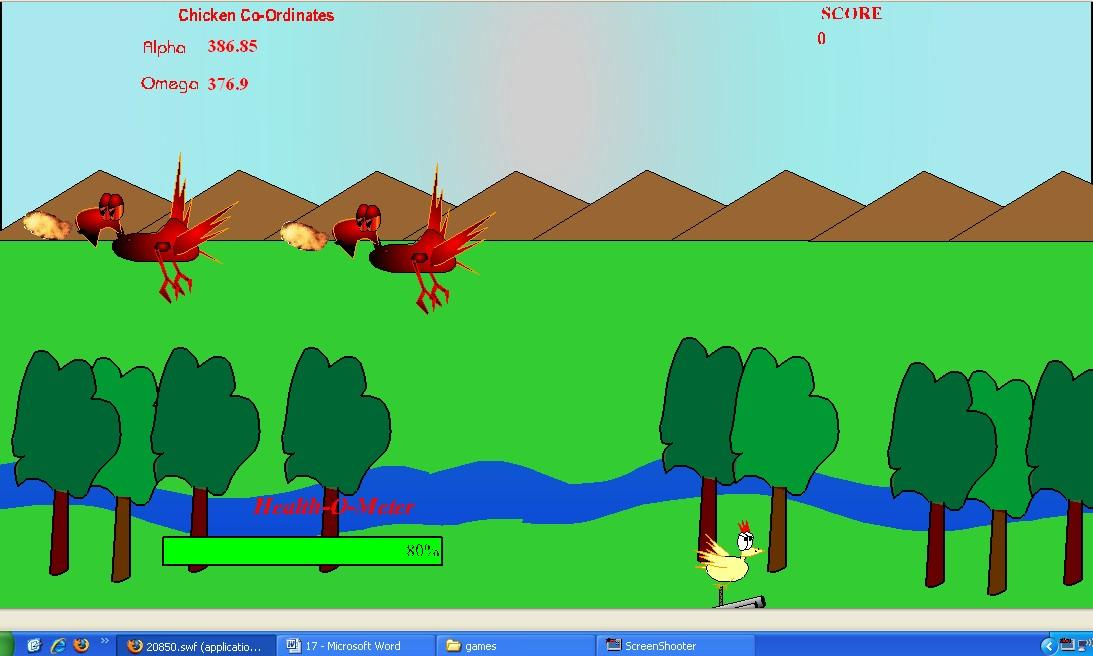 Flashgame - The-Chicken-ator
