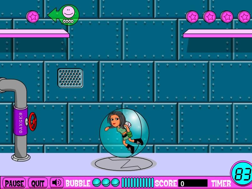 Flashgame - K.T.s Impossibubble Adventures