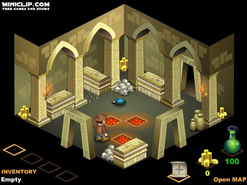 Flashgame - The Pharaoh's Tomb